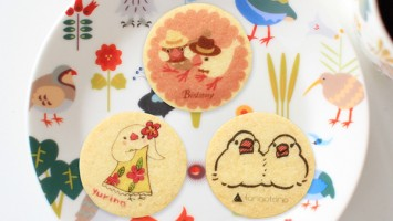 ことりカフェコラボレーション:文鳥クッキー