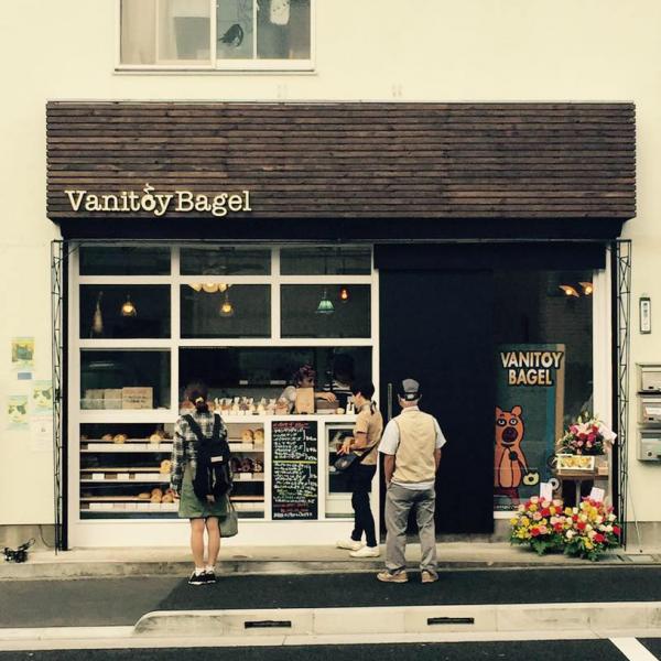 第三回 #トリハ展参加店:Vanitoy Bagel 国分寺店