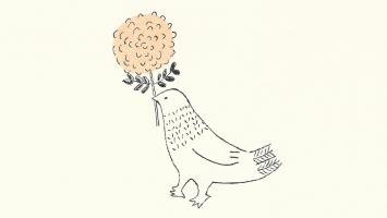 トリノコ 絵を描いたり木を彫ったりしています。